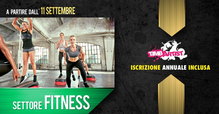 STOP WISHING START DOING - NUOVA STAGIONE SETTORE LIGHT FITNESS 2017/2018
