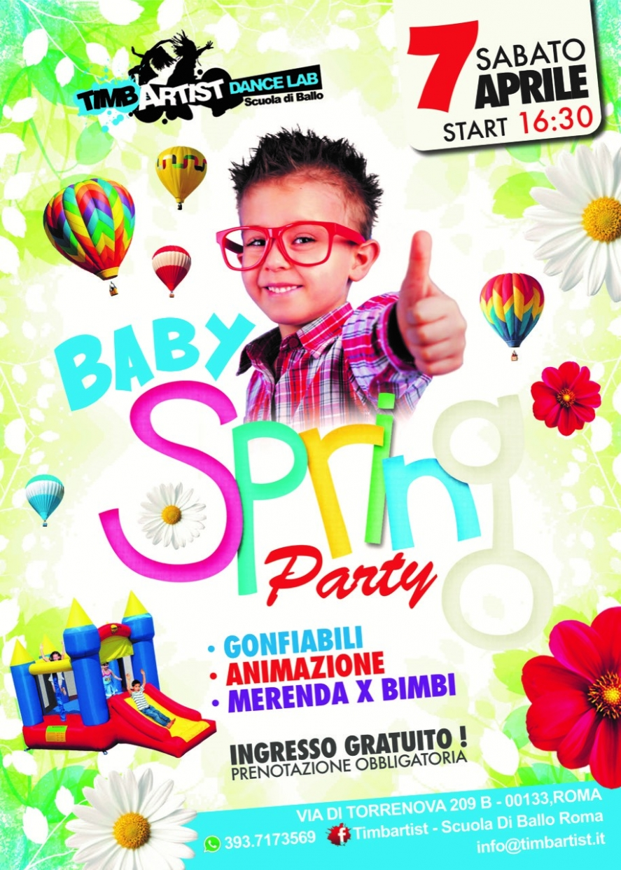 Spring Party Baby 2018